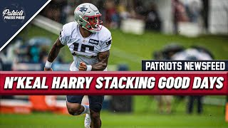 PATRIOTS NEWS: N'Keal Harry Stacking Together Good Days