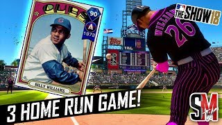 Billy Williams Debut & A Diamond on The Board! MLB The Show 18 Gameplay