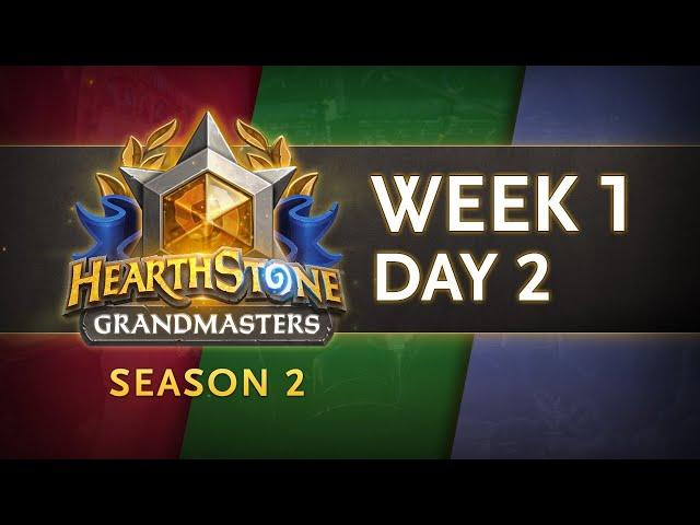 Hearthstone Grandmasters 2020 Season 2   Week 1 Day 2