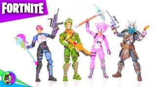 """FORTNITE SQUAD MODE"" 4-Pack Figure Review (fr) par Jazwares"