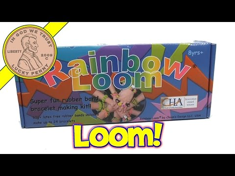Rainbow Loom Rubber Band Bracelet Set - Learn What You Get