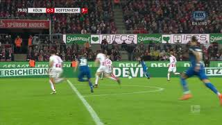 Video Gol Pertandingan FC Cologne vs Hoffenheim