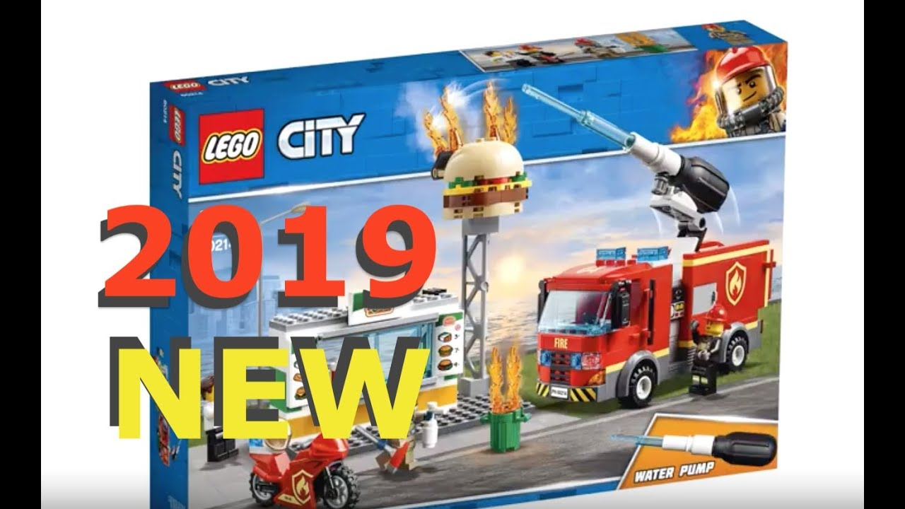 more new 2019 lego city sets youtube. Black Bedroom Furniture Sets. Home Design Ideas