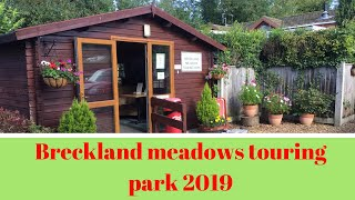 BRECKLAND MEADOWS TOURING PARK 2019 (adults only)
