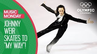 Johnny Weir Skates to