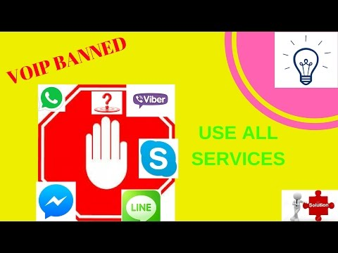 how to use voip call in banned countries