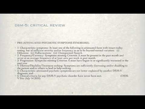 DSM-5: Critical Review - Part 3 - YouTube