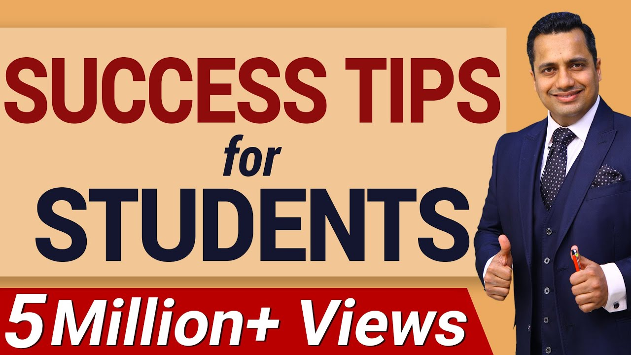Success Tips for Students in Hindi by Dr. Vivek Bindra | Motivational Speech