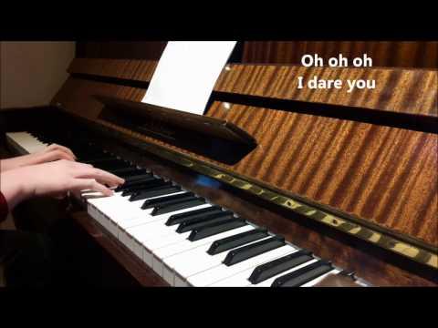 I Dare You - The xx (piano cover+lyrics)