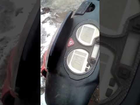 Зимний прогрев скутера Stels Tactic 50cc 2т