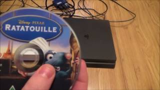 vuclip What Happens When you put a DVD disc into the PS4 Slim
