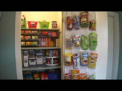 how to organizing kitchen pantry  dollar tree storage, Kitchen design