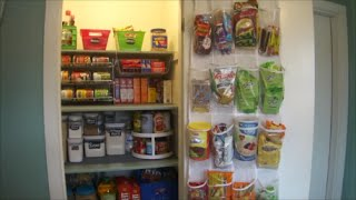 How To: Organizing Kitchen Pantry | Dollar Tree Storage