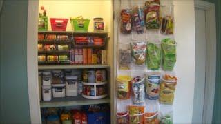 How To: Organizing Kitchen Pantry | Dollar Tree Storage