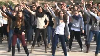 Institut de Flix. Flashmob per la Marató de TV3 2012