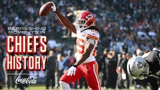 Jamaal Charles Scores 5 TDs vs. Raiders | Refreshing Moments in Chiefs History