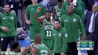 Boston Celtics Ball Movement Highlights vs Oklahoma City Thunder (11/03/2017)
