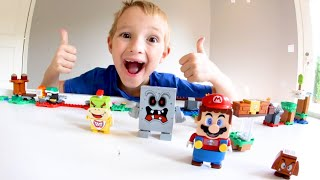 FATHER SON ULTIMATE LEGO BATTLE! /Mario In REAL LIFE!?