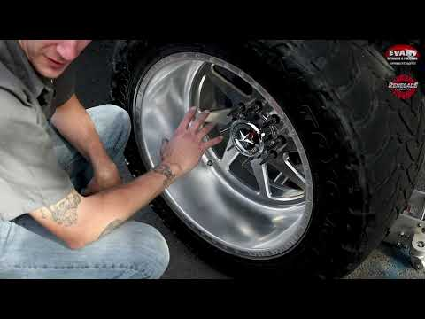 How to Sand and Polish Forged Wheel/Rim on a Lifted Truck : Evan's Detailing and Polishing