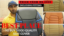 CHEAPEST SEAT COVERS IN MARKET | BORN CREATOR