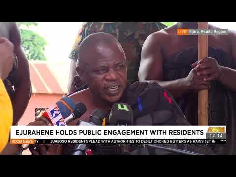Post-Ejura Protest: Ejurahene hold public engagement with residents - Premotobre Kasee (21-7-21)