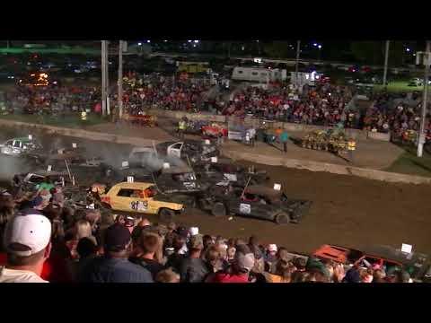 Williams County Derby - Fullsize Car Heat (2017)