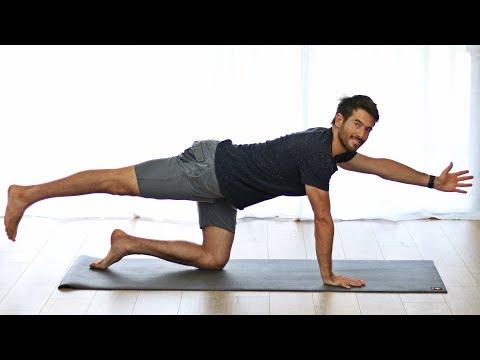 Yoga For Back Pain – 20 Minute Stretch, Sciatica Pain, & Flexibili…