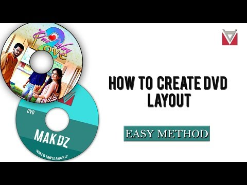 How To Design A DVD Label Layout In Photoshop - Easy Method