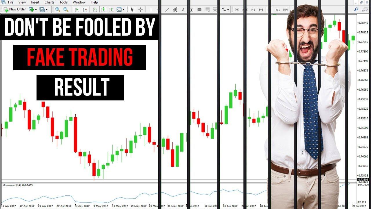 Fake forex traders