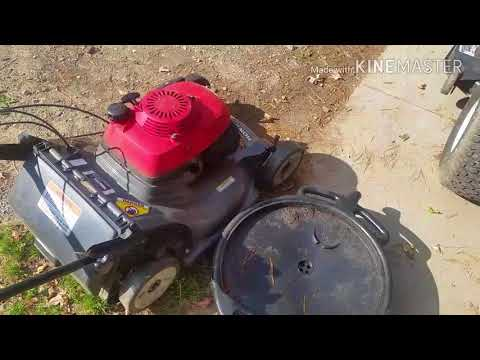 Honda Lawn Mower How To Winterize & Maintain.
