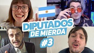 FERIADOS PARA TODOS - Diputados de Mi3rda #3 ft Damián Kuc y Magnus Mefisto | Hecatombe!