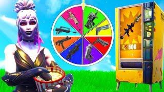 Glücksrad Automaten Challenge in Fortnite!