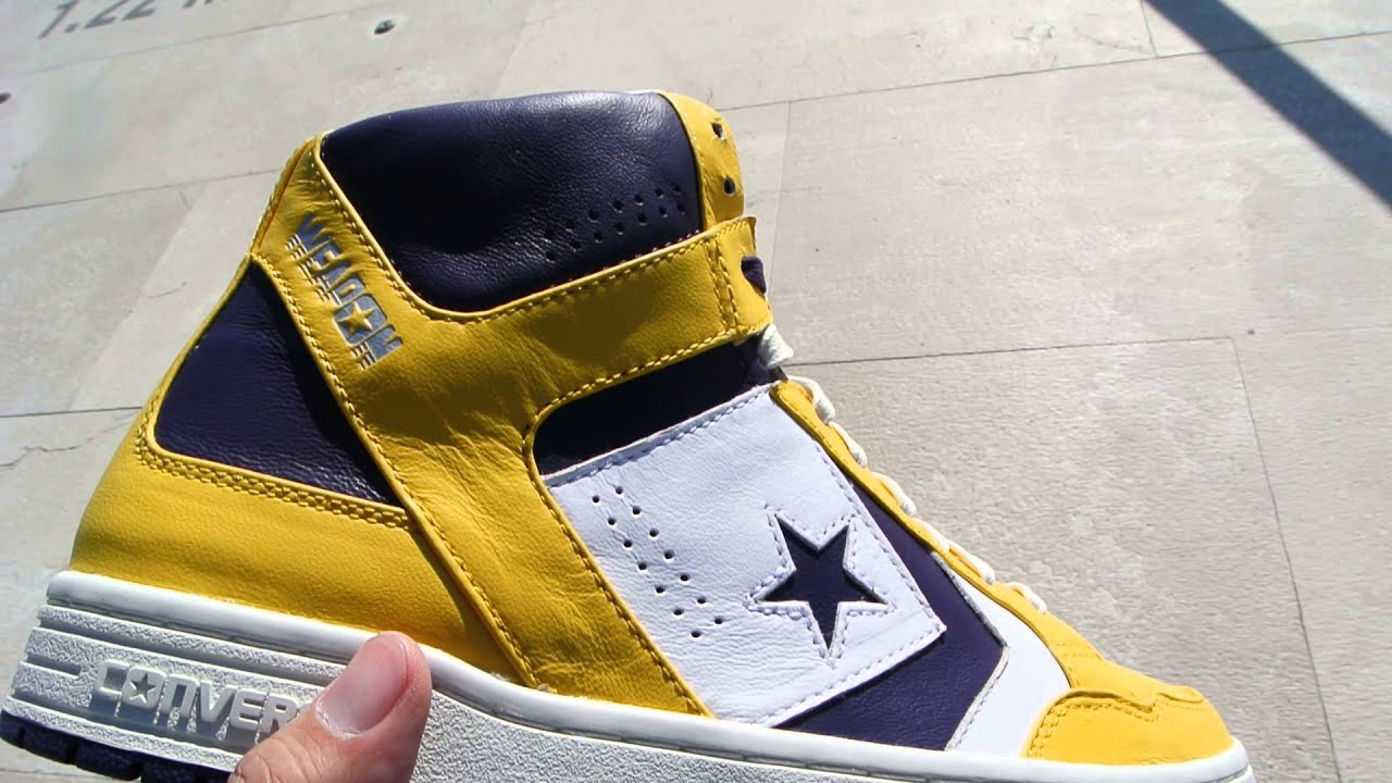 converse lakers weapon