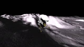 Apollo 15 Landing.      Eagle Lander 3D V2.15