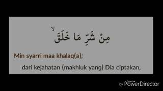 Download Surat Al Falaq Bahasa Arab Indonesia Dan Artinya Mp3
