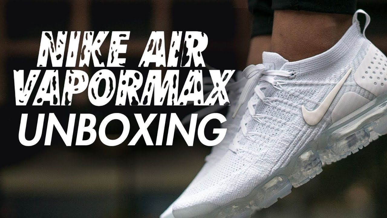 7f2fd035d704 NIKE AIR VAPORMAX 2.0 TRIPLE WHITE UNBOXING