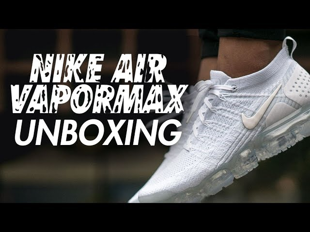 45e125e60 Nike Air VaporMax 2.0 Triple White Unboxing