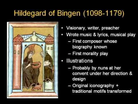ARTH 4117 Medieval Art 9: Hildegard of Bingen 1