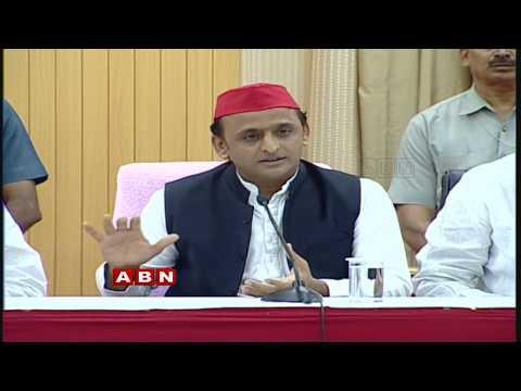 CM KCR and Akhilesh Yadav at TRS Pragathi Bhavan Live | ABN LIVE