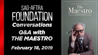 Conversations with THE MAESTRO