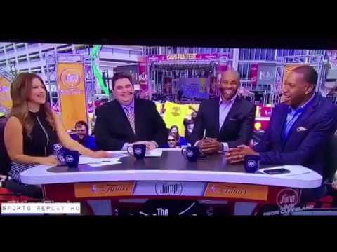 Rachel Nichols Shuts Down Brian Windhorst After Sexist On-Air Comment  June 10, 2016  NBA Finals