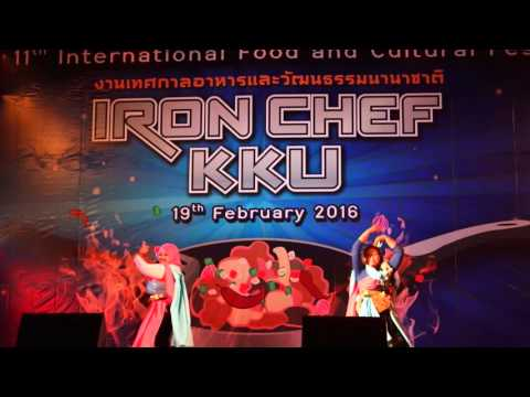 Indonesian Food and Cultural Show in Khon Kaen University 2016