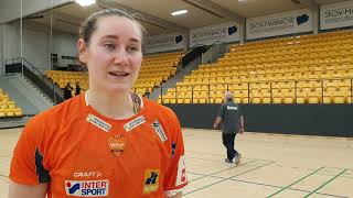 Ingvild Bakkerud Om Kampen Mod Horsens Håndbold Elite