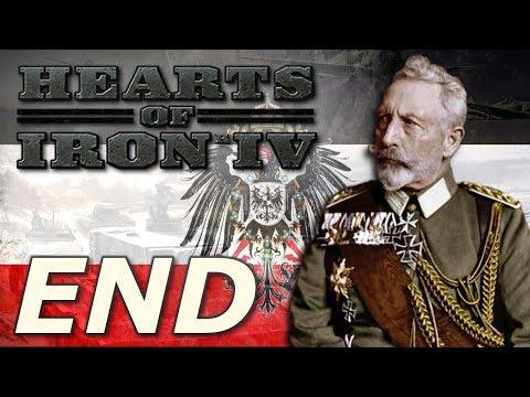 Hearts of Iron IV: Kaiserreich   German Empire - END