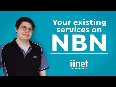 iiNet NBN FAQ Series: What happens to my existing services?