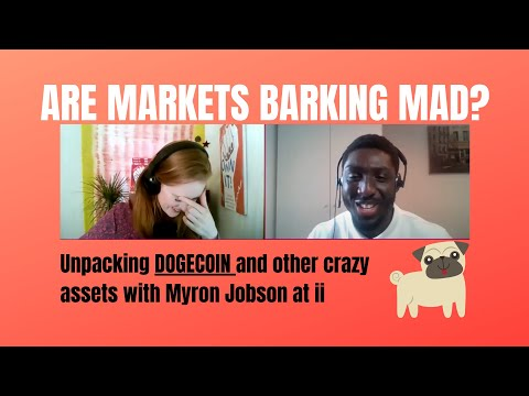 Taming Dogecoin & other barking investments with Myron Jobson from Interactive Investor