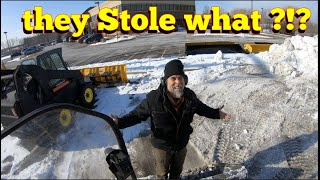 Thieves HIT AGAIN! so we Build a Snow Bunker ...