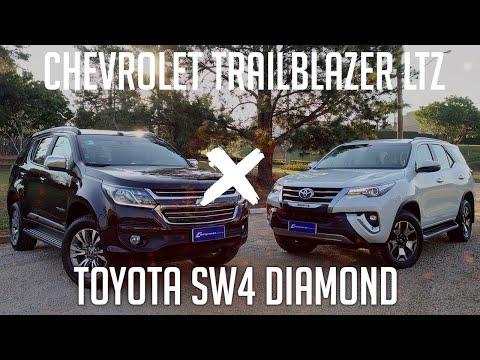 COMPARATIVO: Chevrolet Trailblazer LTZ x Toyota SW4 Diamond