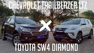 COMPARATIVO: Chevrolet Trailblazer LTZ x Toyota SW4 Diamond