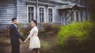 александра и сергей. таинство венчания и свадебная прогулка для двоих